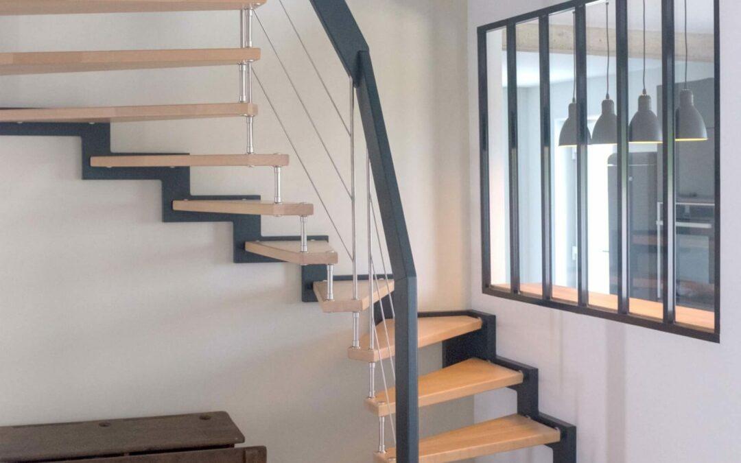 Escalier suspendu en Moselle