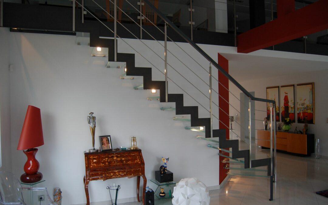 Besoin d'un escalier métallique en Lorraine ?