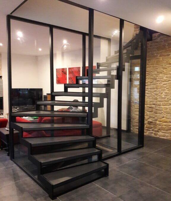 Fabricant d'escaliers en Lorraine