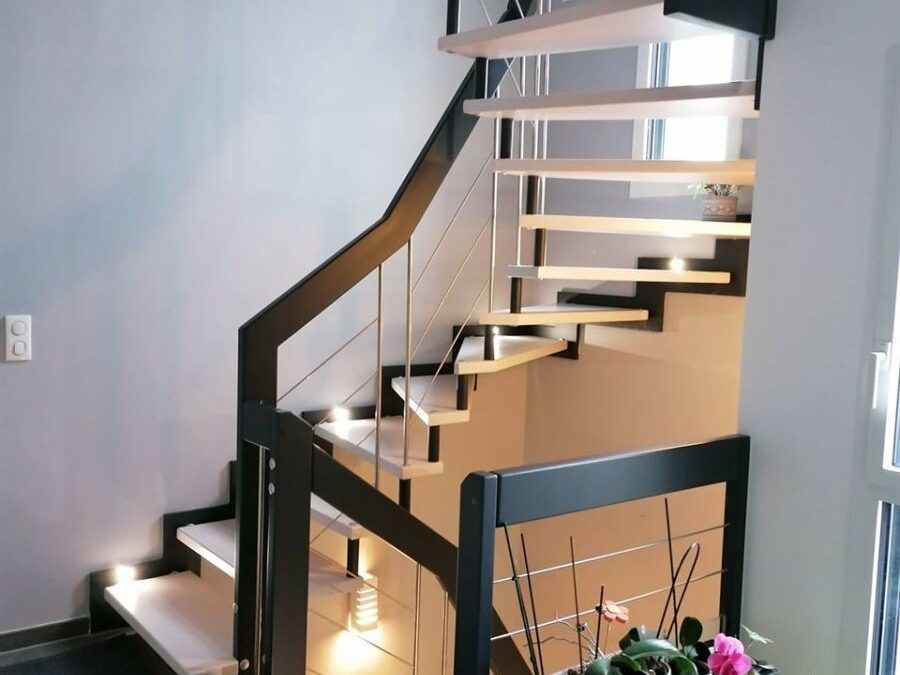 Escalier sur-mesure en Lorraine