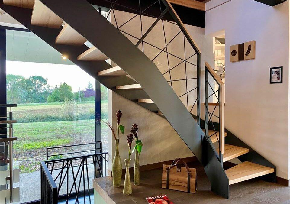 Escalier design en Moselle pour valoriser votre intérieur