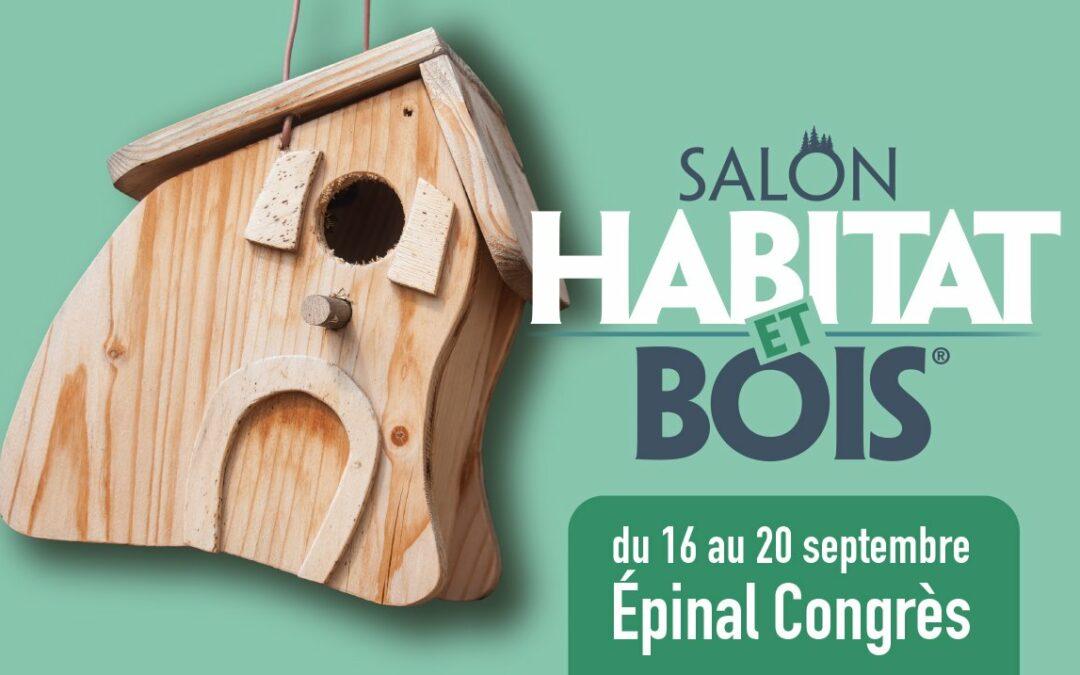 Les Escaliers Somme seront présents au Salon Habitat et Bois d'Épinal !